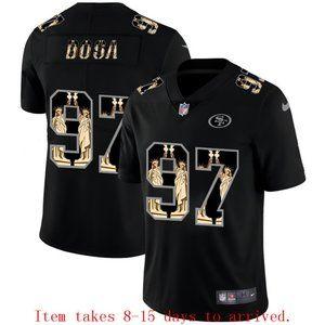 San Francisco 49ers Nick Bosa Jersey Black